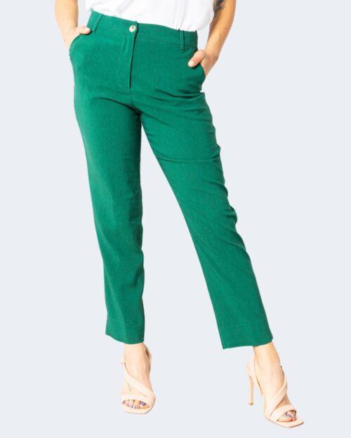 Pantaloni a sigaretta Sandro Ferrone CIUDAD Verde – 71706