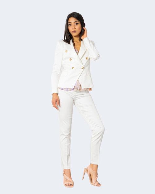 Pantaloni da completo Rinascimento SIGARETTA Bianco – 71574