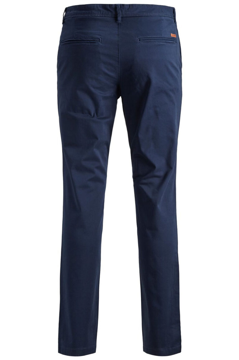 Pantaloni slim Jack Jones MARCO BOWIE Blue scuro - Foto 2