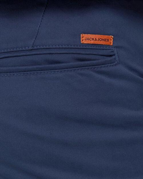 Pantaloni slim Jack Jones MARCO BOWIE Blue scuro - Foto 4