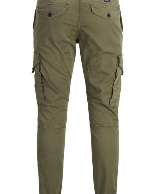 Pantaloni slim Jack Jones PAUL FLAKE Verde Oliva – 27506