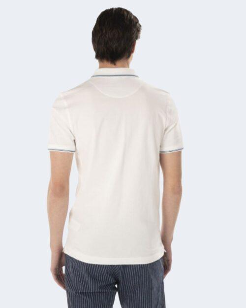 Polo manica corta Harmont&blaine DOPPIO RIGO Bianco – 67797