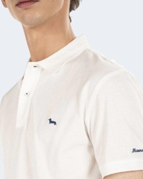 Polo manica corta Harmont&Blaine - Bianco - Foto 3