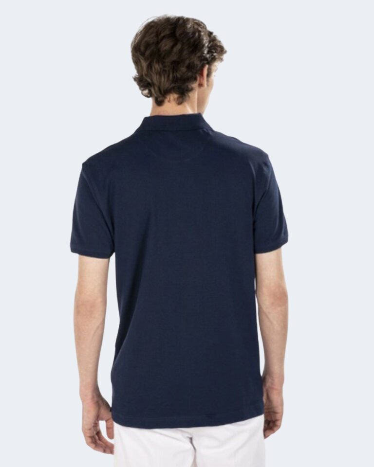 Polo manica corta Harmont&Blaine - Blue scuro - Foto 2