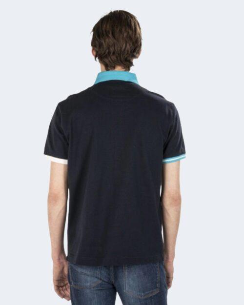 Polo manica corta Harmont&blaine – Blue scuro – 70855