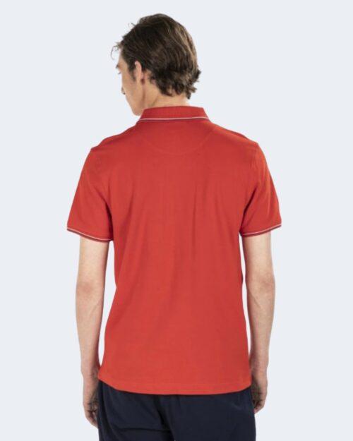 Polo manica corta Harmont&blaine DOPPIO RIGO Rosso – 67797