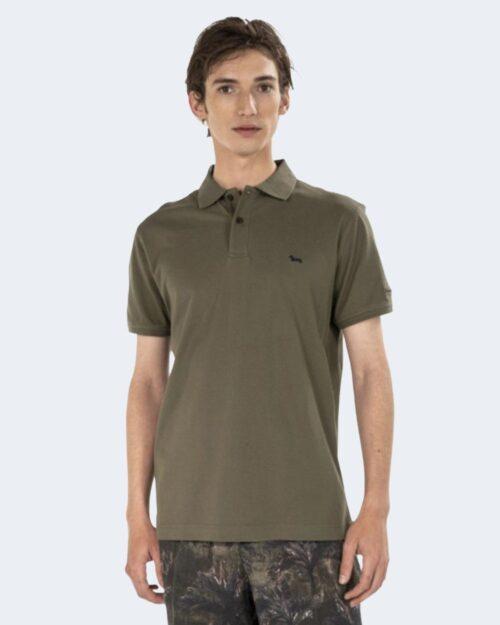 Polo manica corta Harmont&blaine – Verde Oliva – 70285