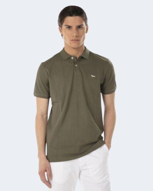 Polo manica corta Harmont&blaine – Verde Oliva – 70286