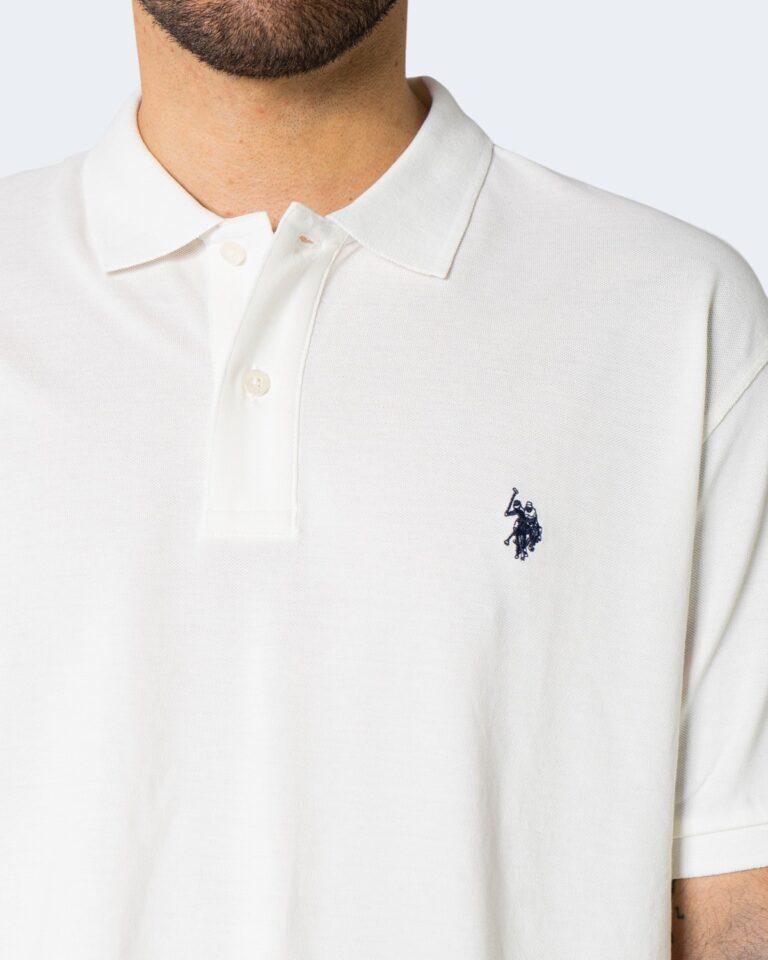Polo manica corta U.S. Polo Assn. ISTITUTIONAL Bianco - Foto 2