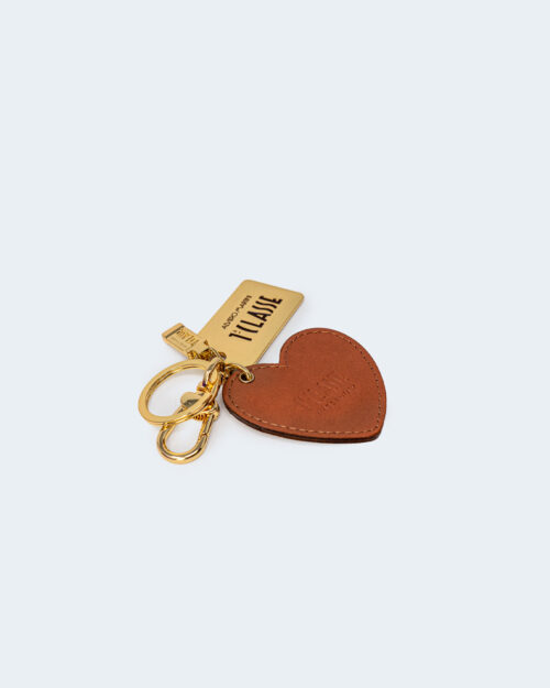 Portachiave Alviero Martini Prima Classe KEY HOLDER HEART Beige – 71567