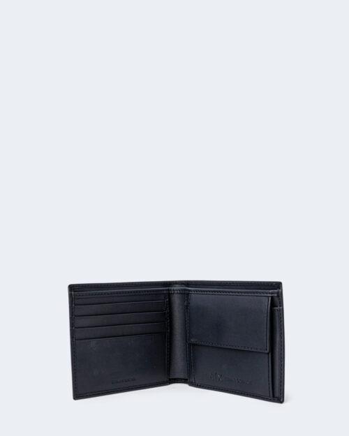 Portafoglio con portamonete Armani Exchange COLOR LOGO Blu – 71525