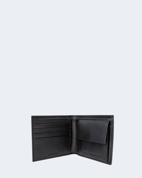 Portafoglio con portamonete Armani Exchange COLOR LOGO Nero – 71525