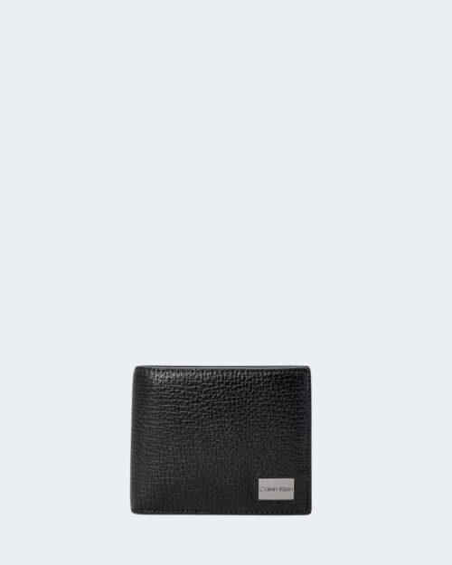 Portafoglio con portamonete Calvin Klein BIFOLD 5CC Nero – 71493