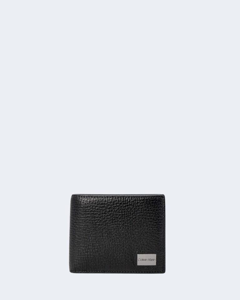 Portafoglio con portamonete Calvin Klein BIFOLD 5CC Nero - Foto 1