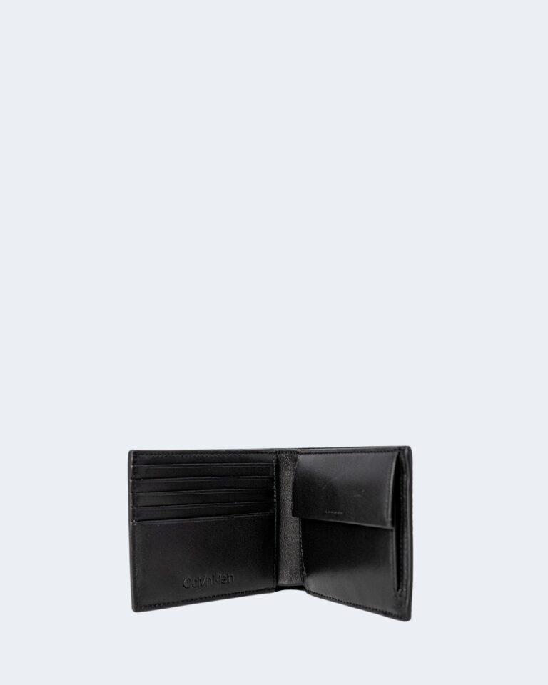 Portafoglio con portamonete Calvin Klein BIFOLD 5CC Nero - Foto 2