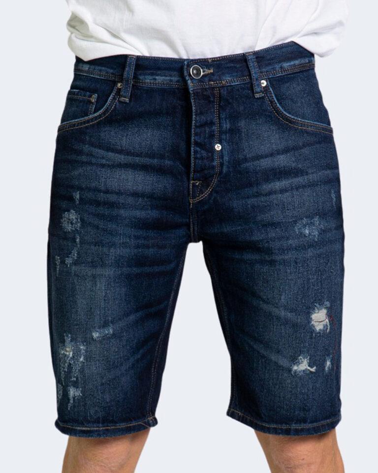 Shorts Antony Morato BAART SLIM FIT Dark Blue Denim - Foto 1