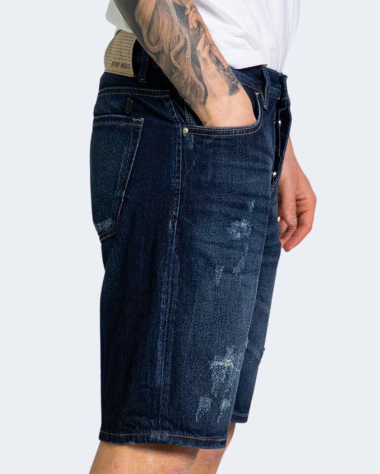 Shorts Antony Morato BAART SLIM FIT Dark Blue Denim - Foto 2