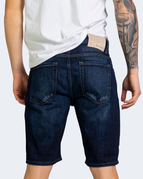 Shorts Antony Morato BAART SLIM FIT Dark Blue Denim - Foto 3