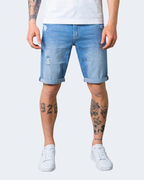 Shorts Calvin Klein SLIM Denim chiaro – 64633