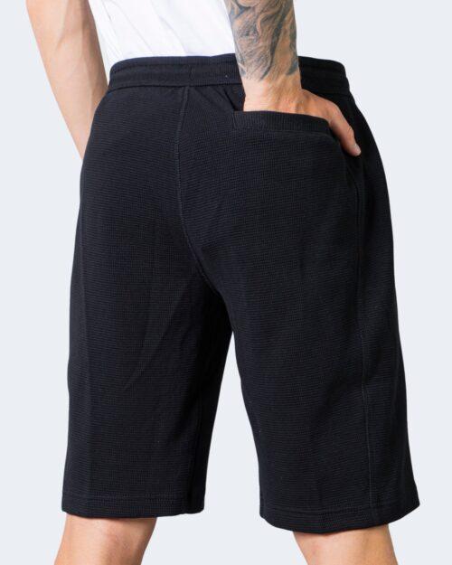 Shorts Calvin Klein Jeans MONOGRAM BADGE Nero - Foto 3