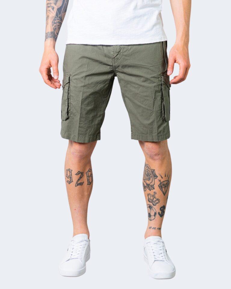 Shorts Idra TINTA UNITA Verde Oliva - Foto 1