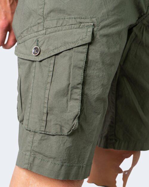 Shorts Idra TINTA UNITA Verde Oliva - Foto 3
