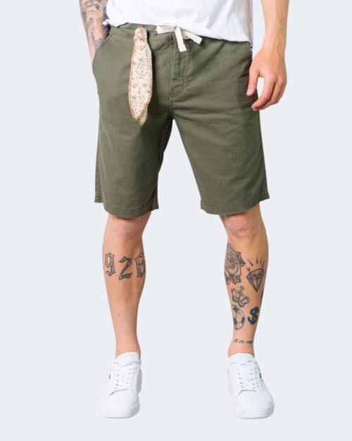 Shorts Idra TINTA UNITA LACCIO Verde Oliva – 71193