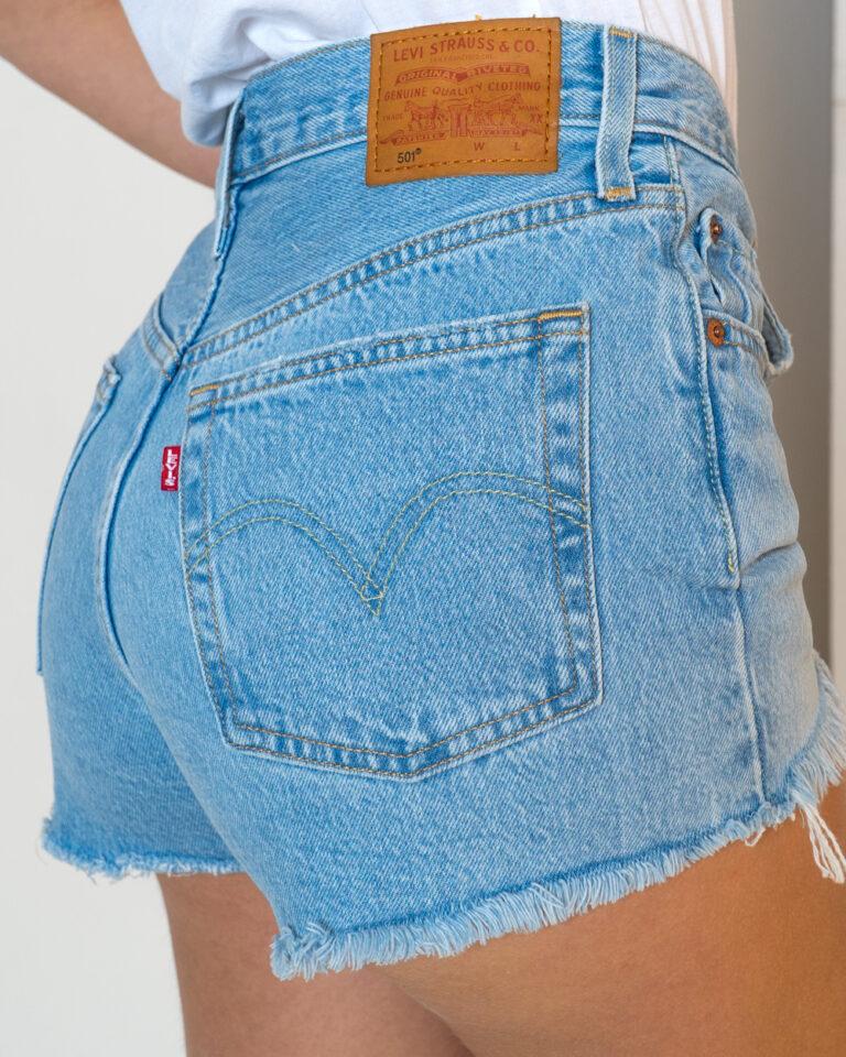 Shorts Levi's® ORIGINAL SHORTS 501 Denim chiaro - Foto 2