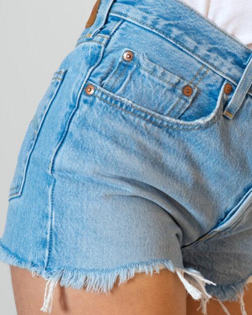 Shorts Levi's® ORIGINAL SHORTS 501 Denim chiaro - Foto 3