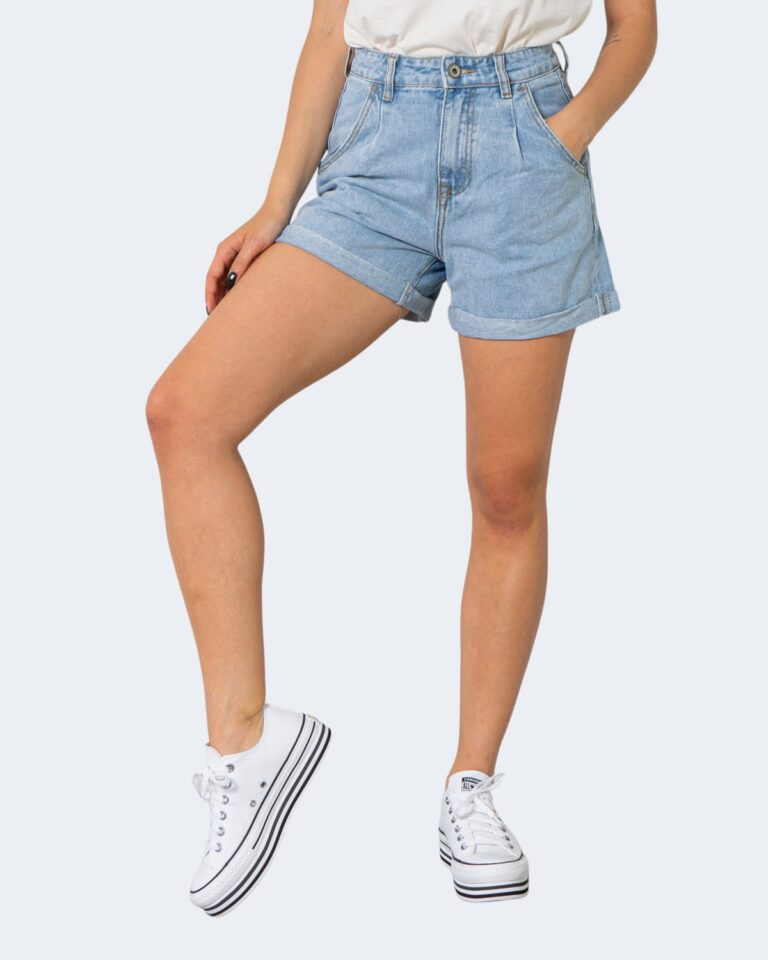 Shorts One.0 PINCES Denim chiaro - Foto 1