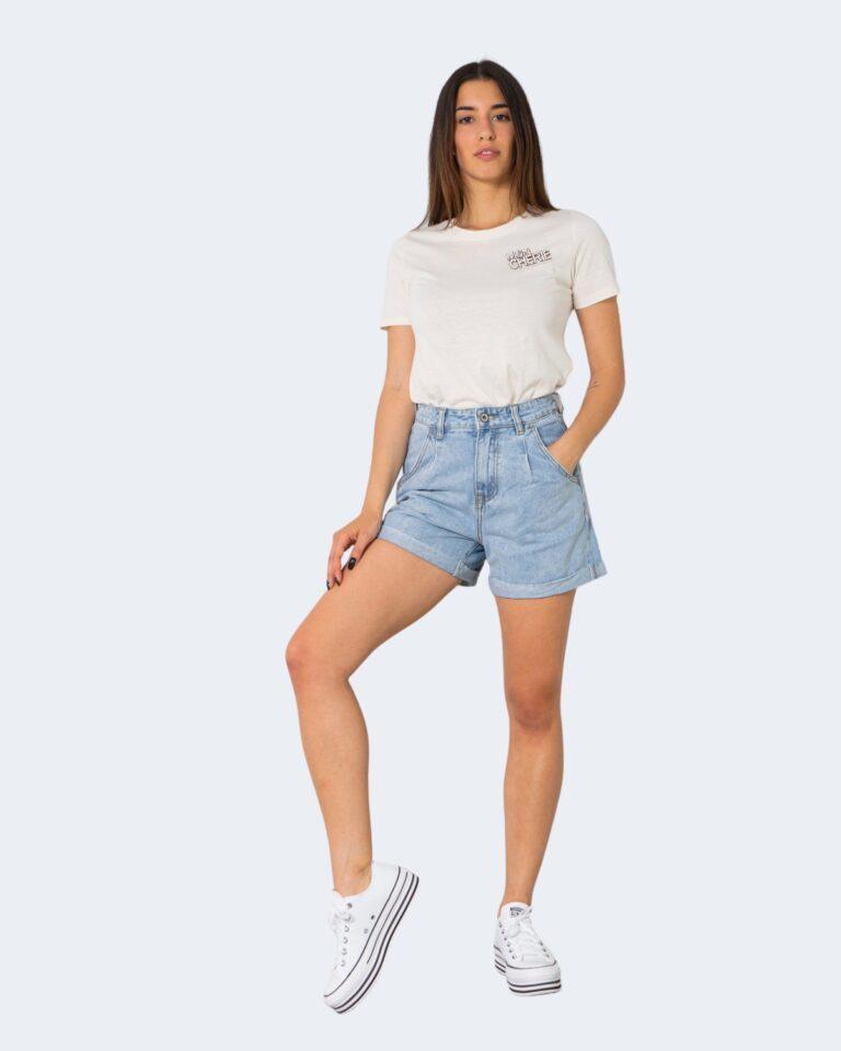 Shorts One.0 PINCES Denim chiaro - Foto 2