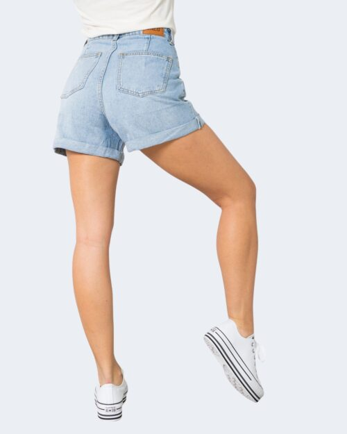 Shorts One.0 PINCES Denim chiaro - Foto 3