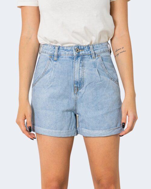 Shorts One.0 PINCES Denim chiaro - Foto 4