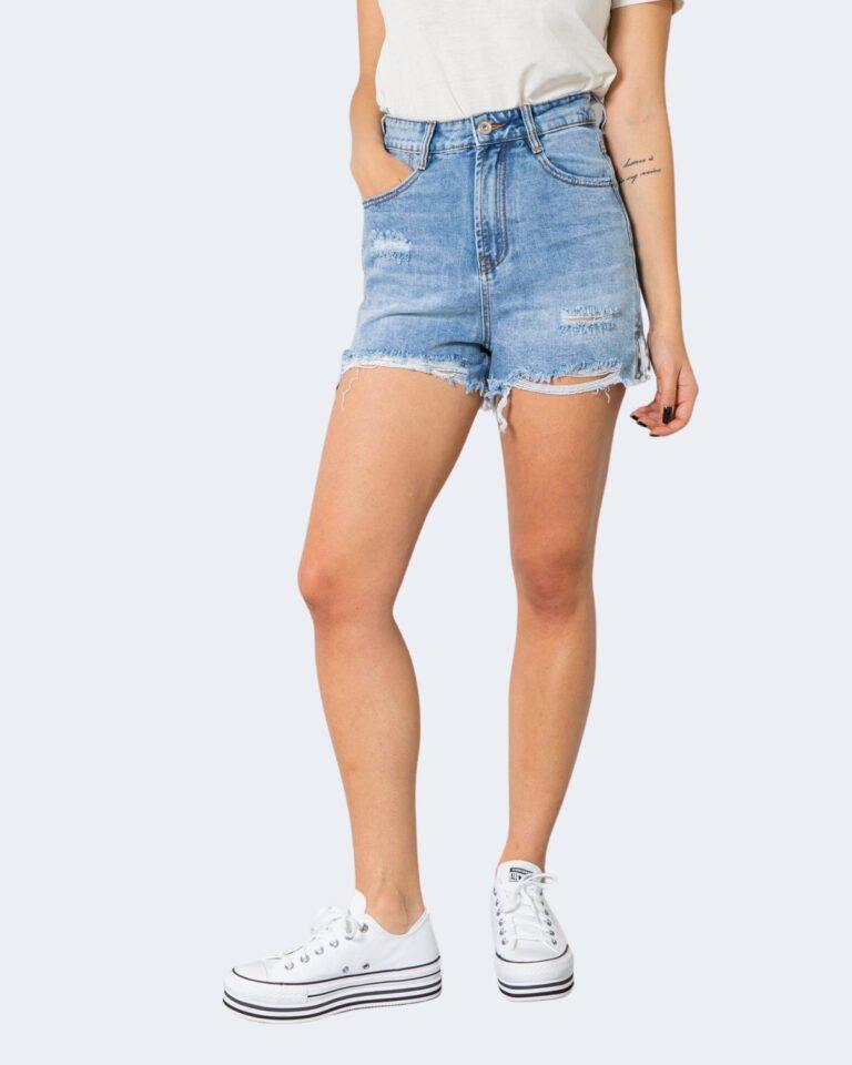 Shorts One.0 SFRANGIATO Denim chiaro - Foto 1
