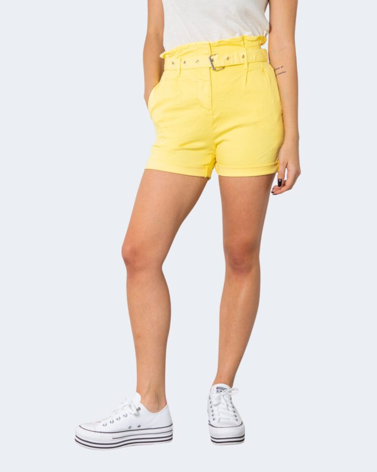 Shorts One.0 CON CINTURA Giallo - Foto 1