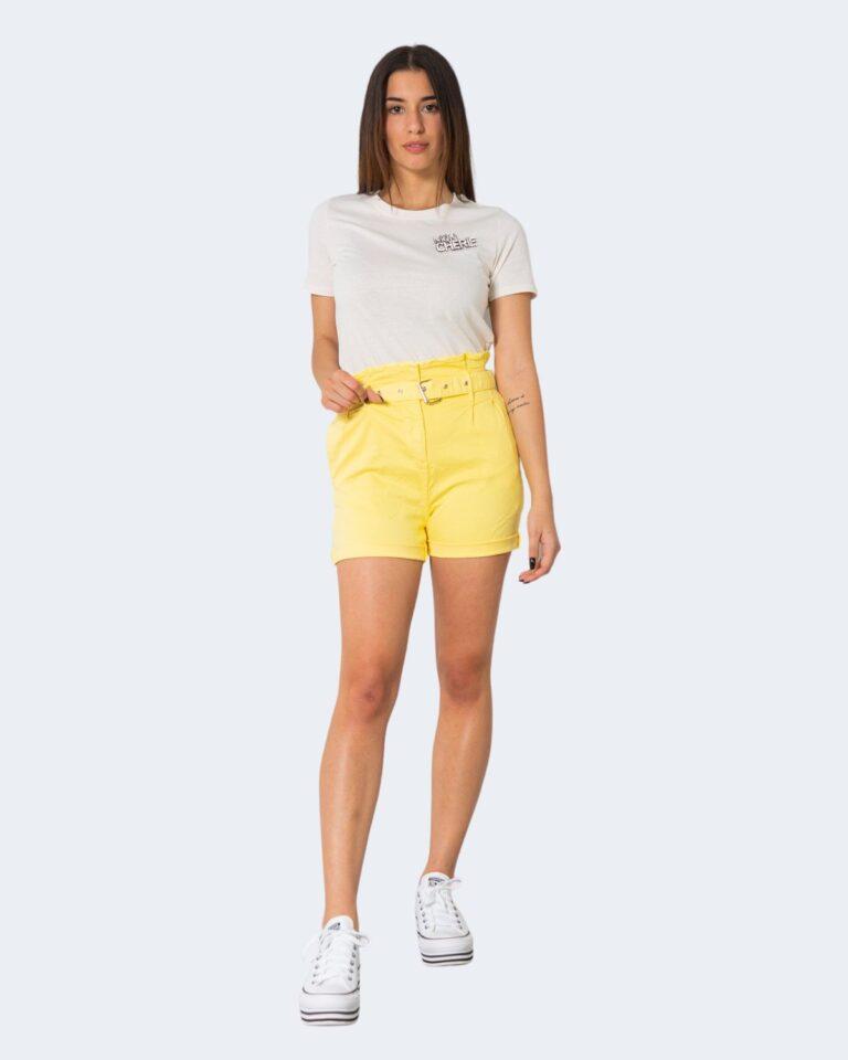 Shorts One.0 CON CINTURA Giallo - Foto 2