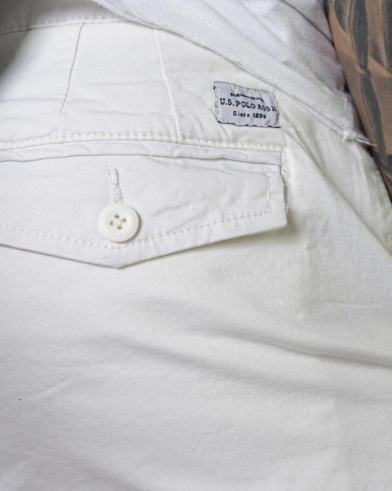 Shorts U.S. Polo Assn. - Bianco - Foto 4