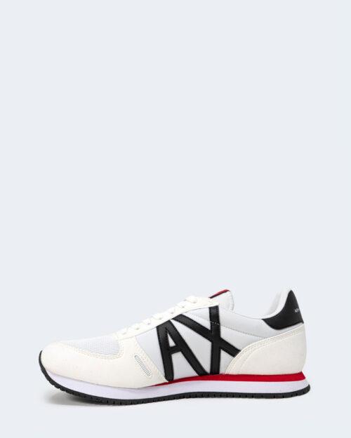 Sneakers Armani Exchange MICRO SUEDE Bianco – 65243