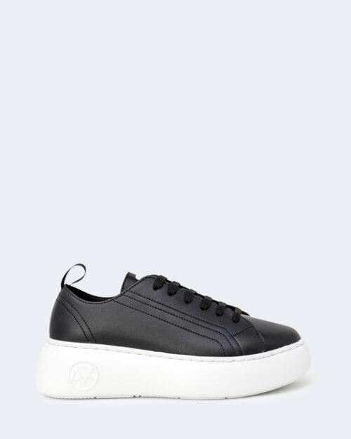 Sneakers Armani Exchange PARA LOGO CERCHIO Nero – 71522