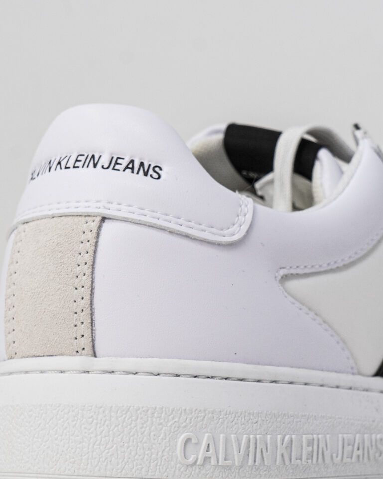 Sneakers Calvin Klein Jeans CUPSOLE LACEUP OXFOR YM0YM00034 Bianco - Foto 3