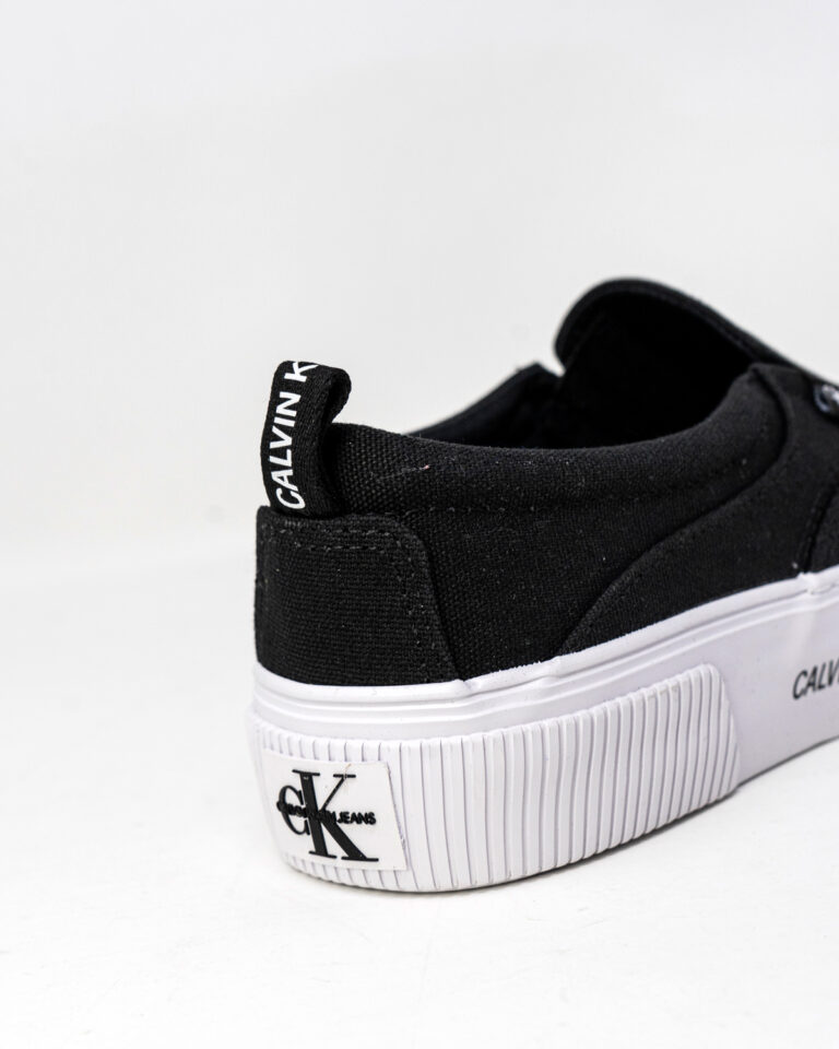 Sneakers Calvin Klein Jeans VULCANIZED SKATE SLI YW0YW00055 Nero - Foto 3