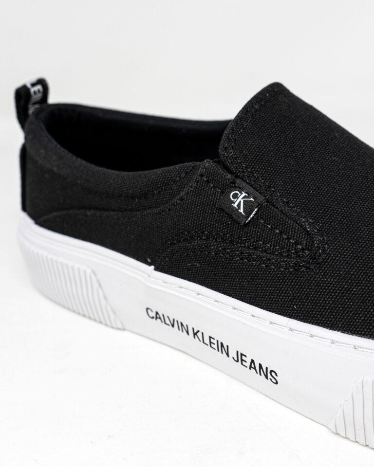 Sneakers Calvin Klein Jeans VULCANIZED SKATE SLI YW0YW00055 Nero - Foto 4
