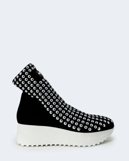Sneakers Gioselin LIGHT FLAT STUDS CON BORCHIE Nero - Foto 1