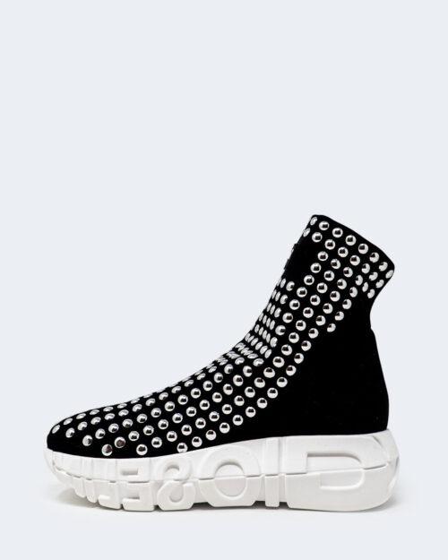 Sneakers Gioselin PARA LOGO BORCHIE Nero – 21522
