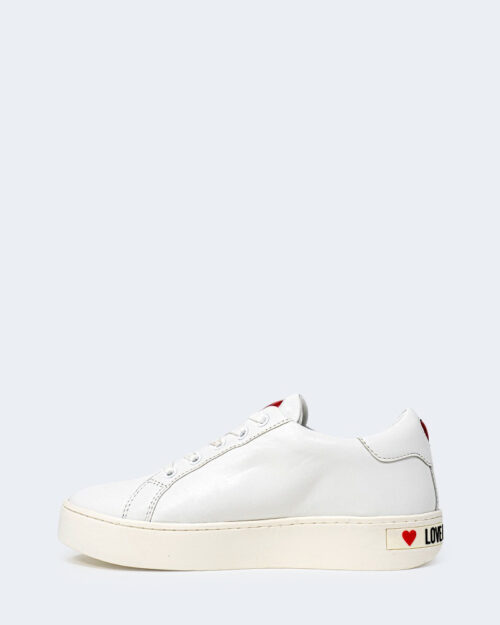 Sneakers Love Moschino STAMPA LOGO Bianco – 72398