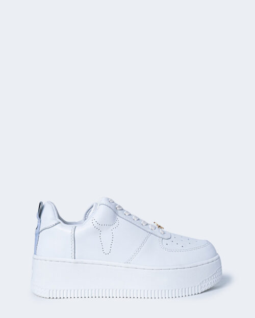 Sneakers Windsor Smith RACERR LEATHER Bianco – 66978