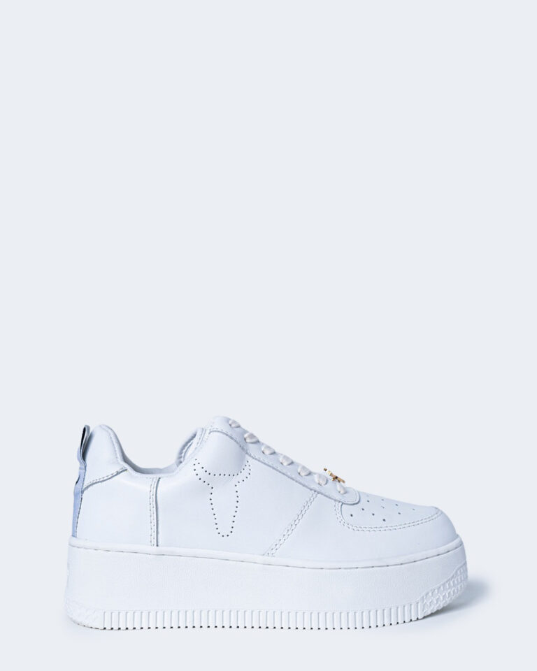 Sneakers WINDSOR SMITH RACERR LEATHER Bianco - Foto 1