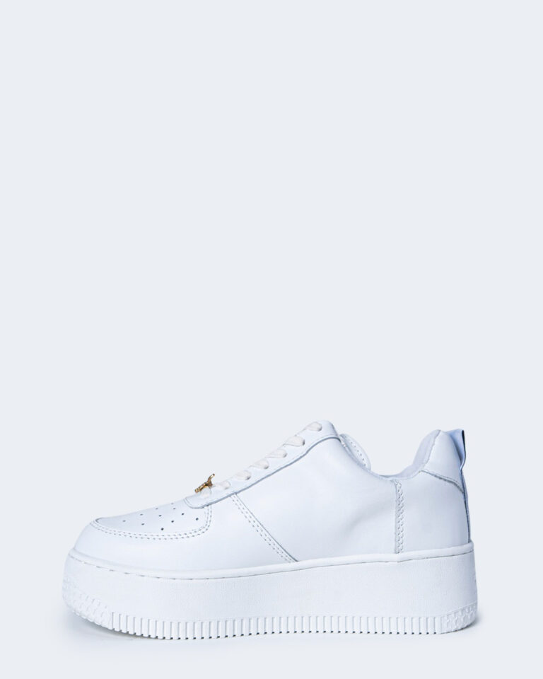 Sneakers WINDSOR SMITH RACERR LEATHER Bianco - Foto 2