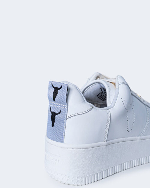 Sneakers WINDSOR SMITH RACERR LEATHER Bianco - Foto 3