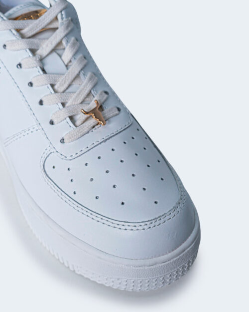 Sneakers WINDSOR SMITH RACERR LEATHER Bianco - Foto 4